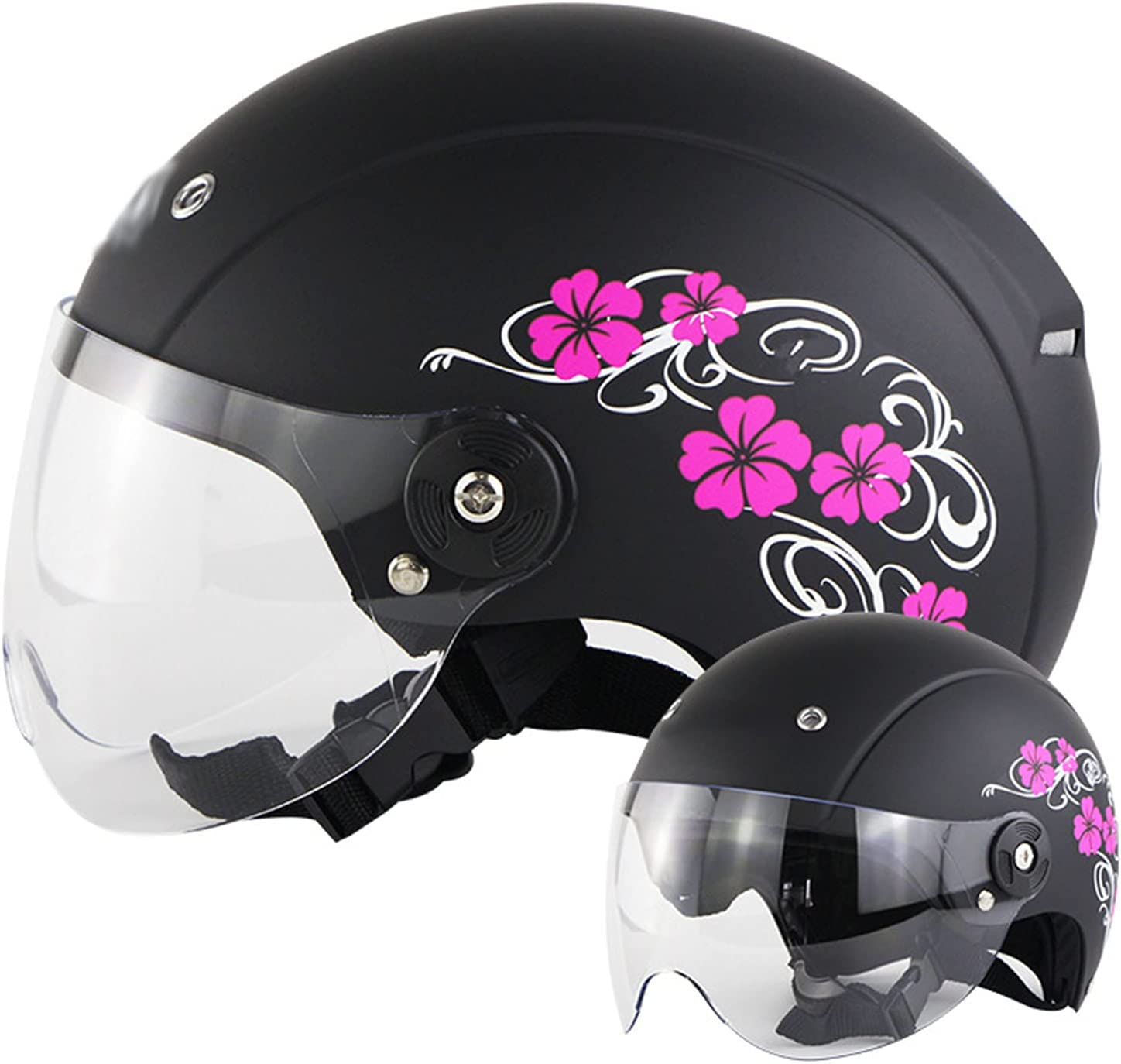 Max 89% OFF GAOZ Vintage store Open Face Half Helmet Motorcycle for Motocr Cycling