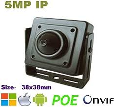 NightKing Indoor 5MP Mini Cube Hidden Spy Security IP Camera,5MP 1920P (2592X1944),3.7mm Pinhole Lens, P2P,ONVIF,Free App View