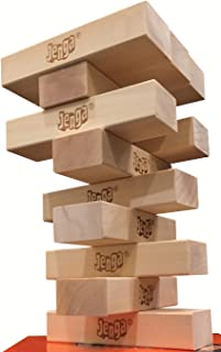 12-Block Booster Pack for Jenga GIANT Genuine Hardwood Game version (NOT a standalone game)