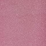 "Glitter Pink Cardstock - 12 x 12 inch - .016"" Thick - 10 Sheets"