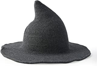Halloween Décor Accessories Women's Witch Hat Foldable Pointed Wizard Wizard Hat with A Head Circumference of 56-58 Cm Hal...