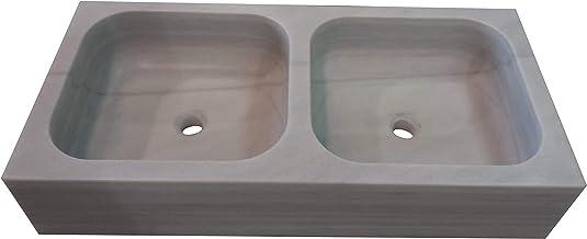 Nrpfell Marco de Piedra de Afilar de Fregadero de Cocina Piedra de Moler Estante Bajo Casa Afilador de Cuchillos Antideslizante Material de Nylon 0.8Kg