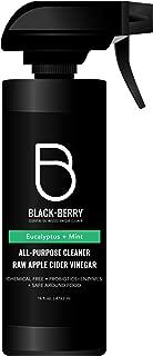 Black+Berry All Purpose, Raw Organic Apple Cider Vinegar Cleaner, Eucalyptus Mint, 16 fl. oz.