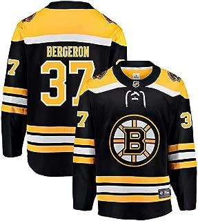 Boston Bruins Patrice Bergeron 37# Hockey Jersey Practice Jersey Player Jersey Sports T-Shirt Fan Clothing for Women&Men&Youth Kids