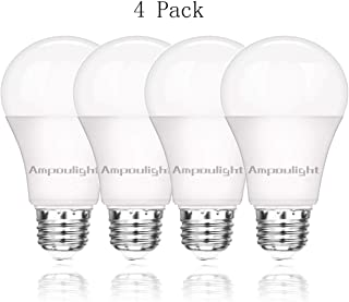 LED Light Bulb 150W Equivalent, A21 Cool White 4000K 2200LM Non-Dimmable E26 Medium Screw Base 20W Light Bulb (4 Packs) by Ampoulight