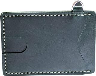 IPOTCH Pocket Making Kit Bolso Cuero Manualidades Tijeras Abrazaderas Hilos Botones Pines - Verde
