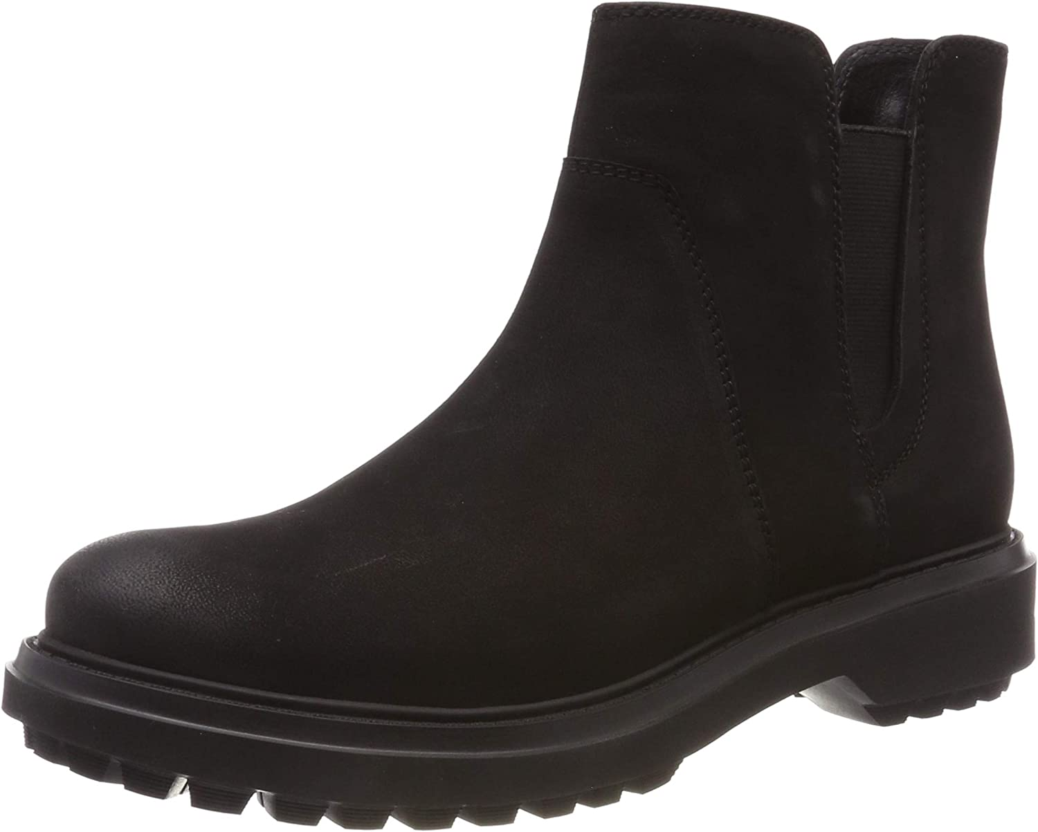 Geox Women's Asheely Leather Pull-On Boot Boot