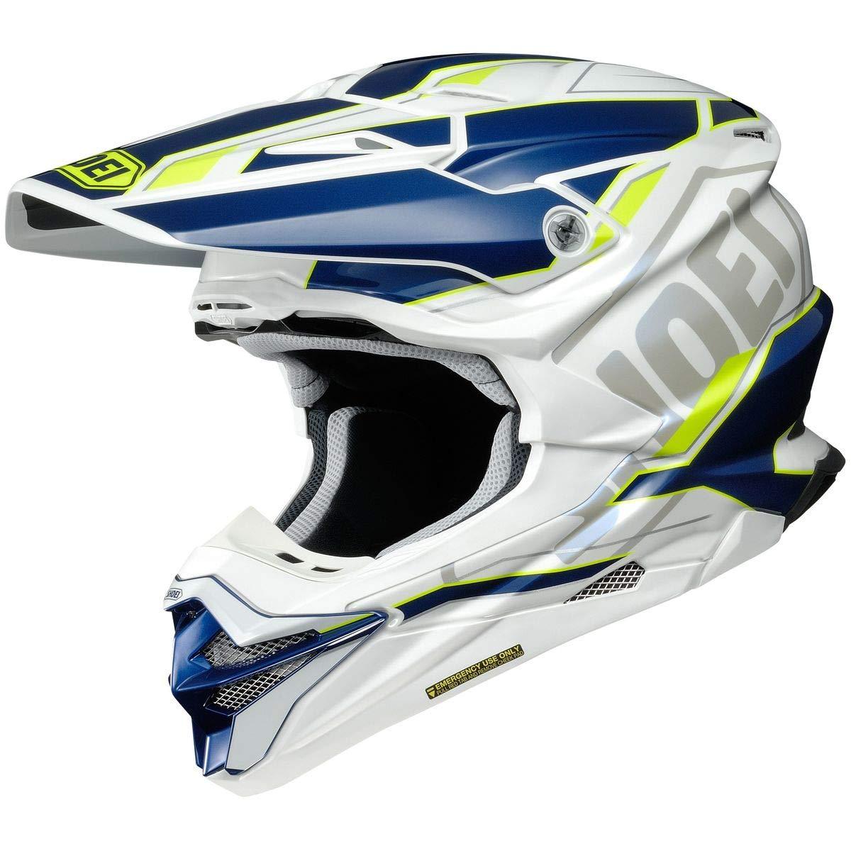 Shoei VFX-EVO Helmet - Allegiant (Large) (Blue/White)