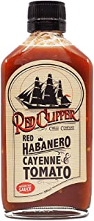 Red Clipper Chilli Co Red Habanero Cayenne and Tomato Sauce, 200 g
