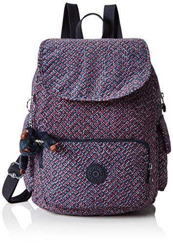 Kipling Women's City Pack S' Backpack Handbags, Multicolor (REF34K Mini Geo), 27x33.5x19 cm