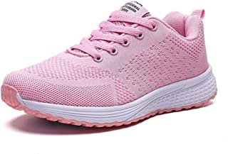SKLT Sneakers Women Running Shoes Basket Ladies Pink Sneakers Lace Up Breathable Mesh Sport Shoes Jogging Walking Shoes Footwear
