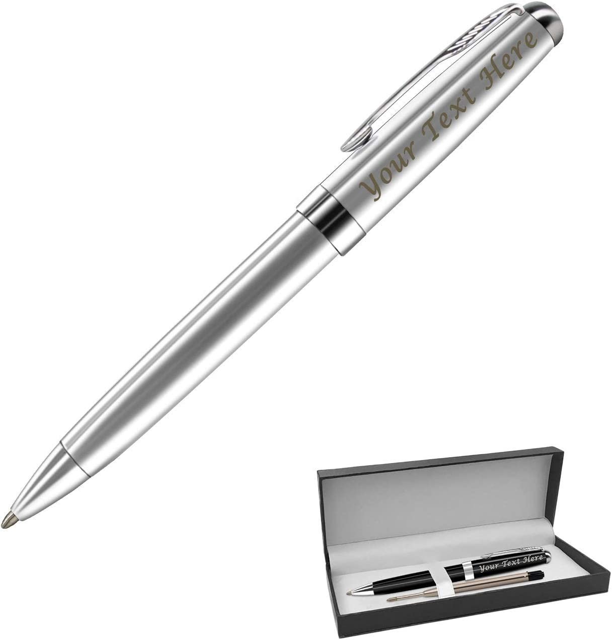 Gifts Infinity EngravedPersonalized Pens Free Engraving Black
