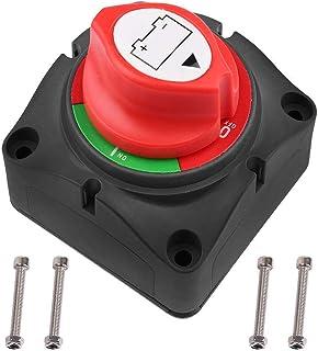 Comtervi Batterie terminaux de Connexion terminaux de la Batterie de Voiture n/égative de Terminal Positif 12V bornes de la Batterie pour Alliage de Zinc 2pcs