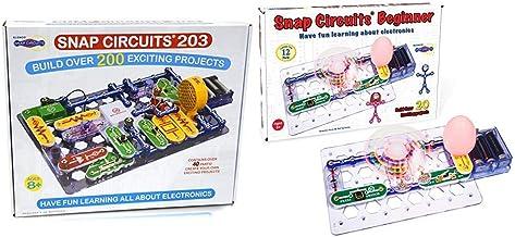 Snap Circuits 203 Electronics Exploration Kit & Beginner, Electronics Exploration Kit, Stem Kit for Ages 5-9 (SCB-20)