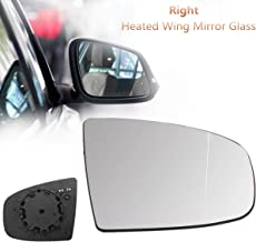 Right Driver Side Electric Heated Wing Mirror Glass For BMW X5 X6 E70 E71 07-16