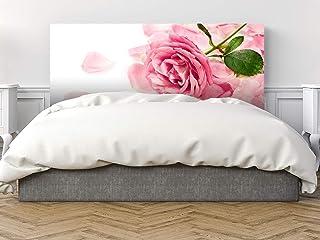 Oedim - Cabecero Cama Pegasus Flor Rosa 150x60cm | Disponible en Varias Medidas | Cabecero Ligero, Elegante, Resistente y Económico