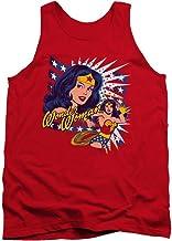 DC Comics Pop Art Online pregunto Mens Camiseta Tank Top (Rojo, XX-Large)