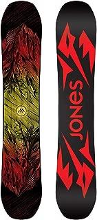Jones Snowboards Mountain Twin Snowboard One Color, 167cm Wide