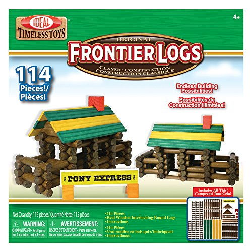 Ideal Frontier Logs Play Set