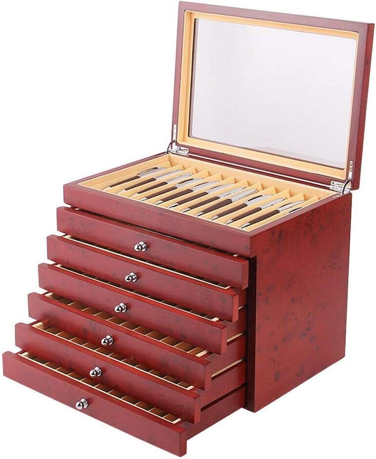78 Fountain Wood price Pen Display Case Max 82% OFF Box Ho Storage