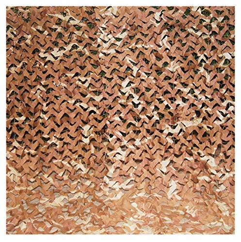 'N/A' Oxford cloth shade net camouflage net, used for military, camping, party decoration, car awning shade, brown, can be cut, multiple sizes(Size:2 * 8M(6.6 * 26.2ft))