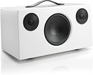Audio Pro Addon C10 - Compact WiFi Wireless Multi-Room Speaker - High Fidelity - Compatible with Alexa - White