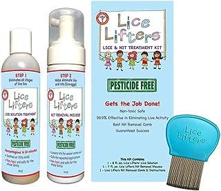 Lice Lifters Head Lice Treatment Kit -lice shampoo
