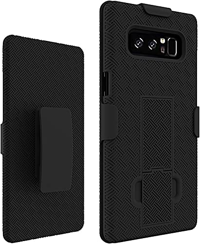 wholesale Verizon Shell Holster popular Combo Case for Samsung Galaxy wholesale Note 8 - Black sale