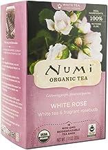 Numi Organic Tea Velvet Garden, White Rose Tea, Pack of 2