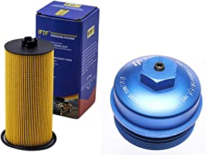 iFJF FL2016 Oil Filter And Cap for Ford Powerstroke 6.0L F250 F350 Super Duty 2003-2007