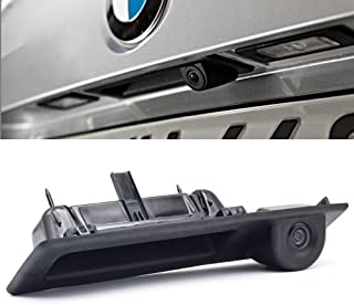 Misayaee Backup Camera with Tailgate Handle,Rear View reverse parking Camera for X1 X3 X4 X5 F30 F31 F34 F07 F10 F11 F25 F26 E84 / 3er/4er/ 5er Series/ 320Li/530i/328i/535i (Model B = 162 x 47 mm)