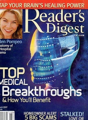 Reader's Digest March 2007