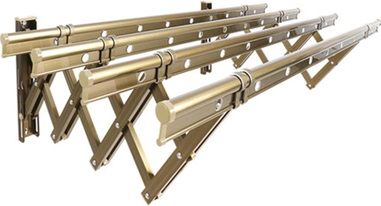 MHCYKJ Accordion Inexpensive Drying Rack OFFicial site Shelf Rustproof Retractab