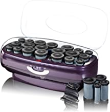 INFINITIPRO BY CONAIR Instant Heat Ceramic Flocked Rollers, 20 count