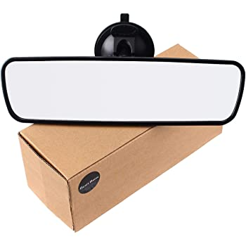 Heart Horse Rear View Mirror, Universal Car Truck Mirror Interior RearView Mirror Suction Cup (9.6'' X 2.6'', 24.5cm X 6.7cm)