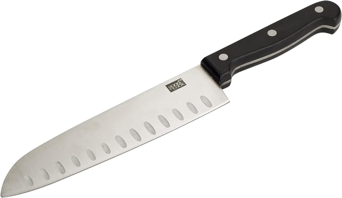 Good Cook 7 Inch Fine Edge Santoku Knife