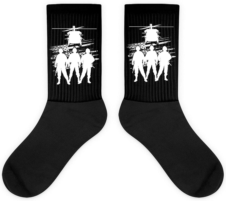 Soldier Patriotic American Flag Us Pride Gift Army Veteran Sock