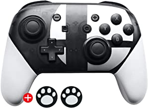 Pro Controller,Wireless Switch Pro Controller for Nintendo Switch (Black & White)
