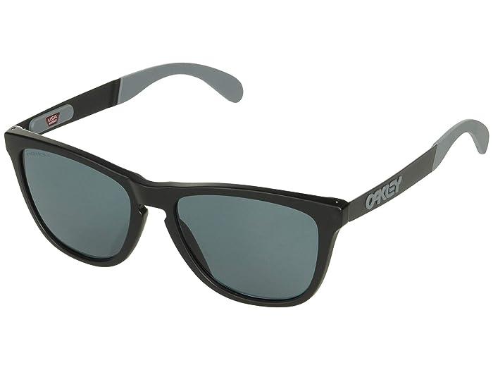 Oakley Frogskin Mix (Matte Black w/ Prizm Grey) Fashion Sunglasses