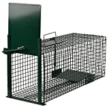 Moorland Safe 5001 Trampa Animales Vivos - Martas Conejos Ratas - 60x23x23cm Trampa de...