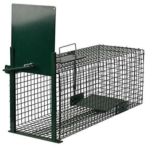Moorland Safe 5001 Trampa Animales Vivos - Martas Conejos Ratas - 60x23x23cm...