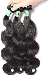 Msbeauty 10A Peruvian Hair 3 Bundles Body Wave Virgin Human Hair Bundles 10 12 14 inch 300g/lot Natural Color Tangle-free