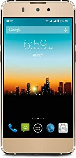 """POSH MOBILE OPTIMA 4G LTE ANDROID GSM UNLOCKED DUAL SIM 5.0"""" HD SMARTPHONE Fingerprint ID technology, 13MP camera and 16GB of Storage. 1 Year warranty. (Model#: L530 GOLD)"""