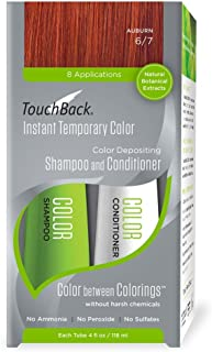 TouchBack Color Shampoo and Conditioner Set Auburn