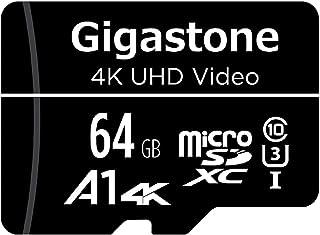 Gigastone マイクロSDカード 64GB Micro SD card SDアダプタ付き U1 C10 90MB/S SDXC 4K Ultra HD ビデオ 撮影 [並行輸入品]
