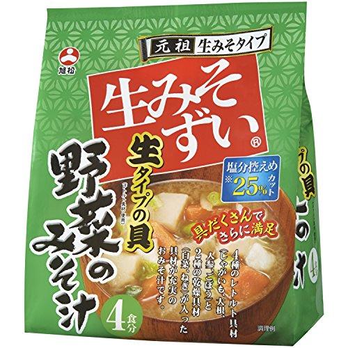 旭松食品 生みそずい 生タイプ野菜みそ汁 4食入