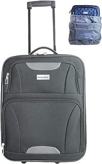Boardinglbue Rolling Personal Item Under Seat Luggage 18