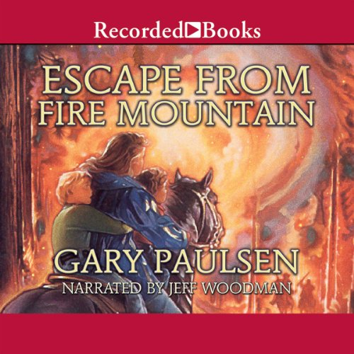 Escape from Fire Mountain audiobook cover art