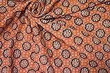 Indio tradicional 100% tela de algodón puro 44 pulgadas de ancho Tejido de confección Medidor de tela de 2,5 metros para coser tela india por metro