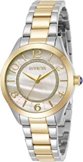 Invicta Women's Angel Quartz Watch with Stainless Steel Band